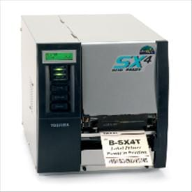The TOSHIBA TEC B-SX4 thermal transfer / direct thermal barcode label printers