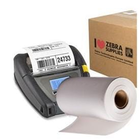 Zebra Direct Thermal Receipt Paper For Mobile Printers