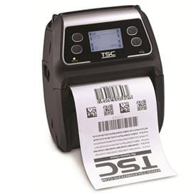 TSC Alpha-4L Mobile Direct Thermal Printer for Labels and Receipts