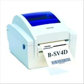 Toshiba TEC B-SV4D Barcode Label Printer - Desktop