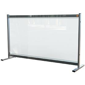 Premium Plus Clear PVC Protective Desk Divider Screen