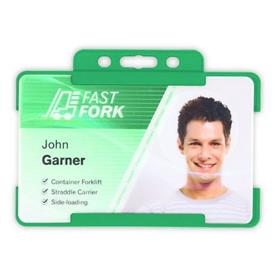 Biodegradable Open Faced ID Card Holders