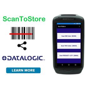 Datalogic Specific - ScanToStore Android Data Collection APP Utility Software