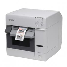 Efficient high-end printer for colour labels and signs