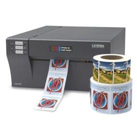 Print Full-Color Labels Fast and On-Demand with LX900e