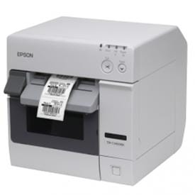 Ideal for mission-critical applications, Epson TM-C3400BK prints durable monochrome labels that survive outdoor usage and direct sunlight