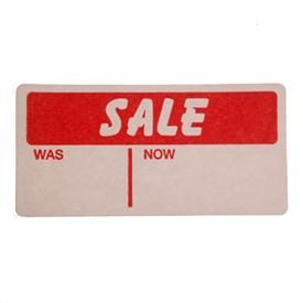Sale and Price Markdown Labels