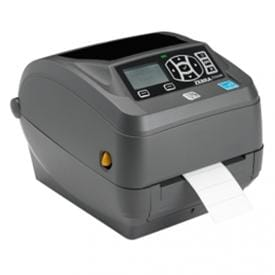 Compact desktop label printer