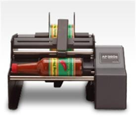 Semi-Automatic Bottle Label Applicator