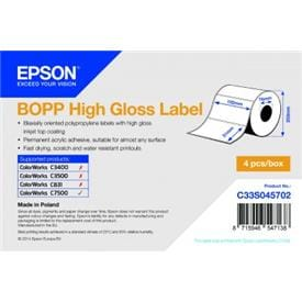 Epson High Gloss Labels for ColorWorks C7500G