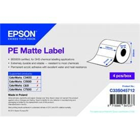 Epson PE Matte Labels for ColorWorks C7500 &C7500G  printers