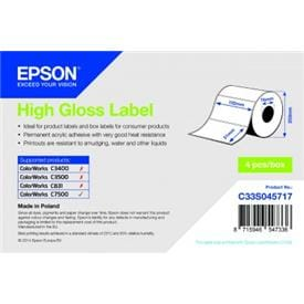Epson High Gloss Labels for ColorWorks C7500 printer