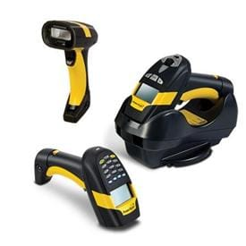 Rugged Industrial Cordless Barcode Scanner