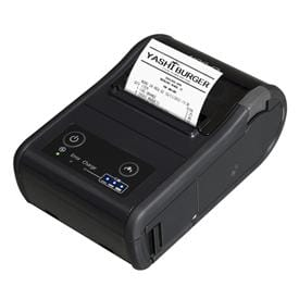 Wireless, hand-held, thermal receipt printer, for fast and convenient POS printing