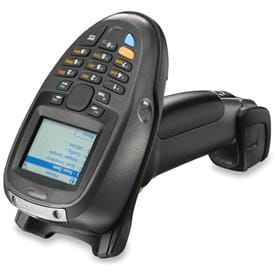 Industrial mobile computer combined with the ease of a barcode scanner