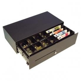 Robust cash drawer with flip-lid