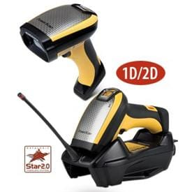 Datalogic PowerScan Cordless Direct Part Marking (DPM) Barcode Scanner