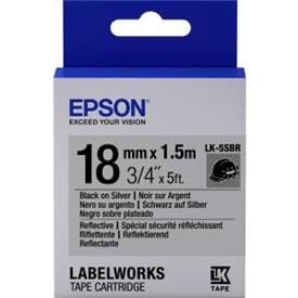 LabelWorks Refective Tape - Ideal for low light levels or environments with poor visibility