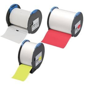 LabelWorks Pro100 is the market's first label printer to use Polyethylenebased Olefin plastic labels.