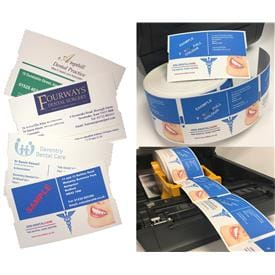 Full Colour Direct Thermal Appointment Cards