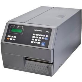 High performance label printer with metal housing