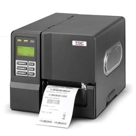TSC ME240 Series Industrial Label Printers Encased in Metal Housing