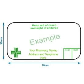 Ers Solutions Pharmacy Dispensing Labels