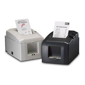 TSP654 Low Cost Receipt Printer (TSP654U-24-GRY)