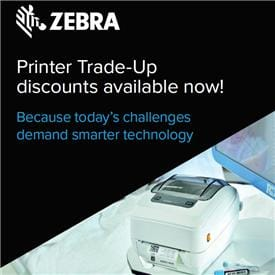 Zebra ZC300 Card Printer - Single Or Dual Sided ID Card Printer