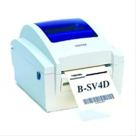 Toshiba TEC hemal Barcode Label Printer (B-SV4D-GS10-QM-R)
