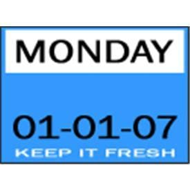 DAY DOT LABELS - KEEP IT FRESH
