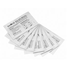 A5002 PrinterClean Cleaning Kit (for card transport rollers) 1 pack of 50 pre-saturated cards packaged in individual tear-open pouch