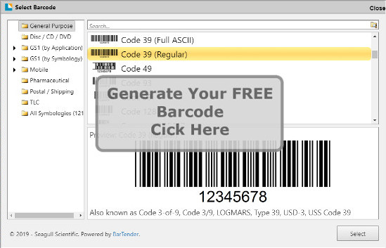 Ers Solutions Barcode Generator